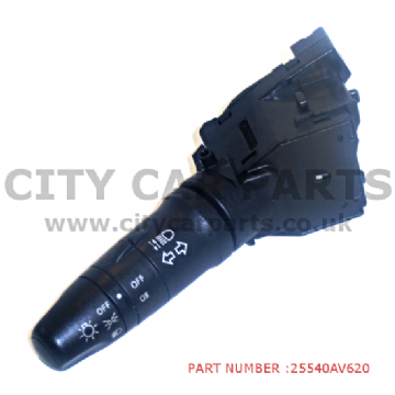 NISSAN ALMERA TINO / PRIMERA INDICATOR HEADLAMP FOGLAMP SWITCH 25540AV620